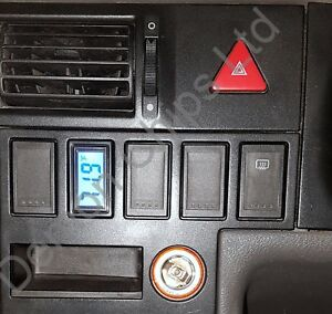 VW T4 Transporter dashboard dash blank button cover Exterior Outside Thermometer