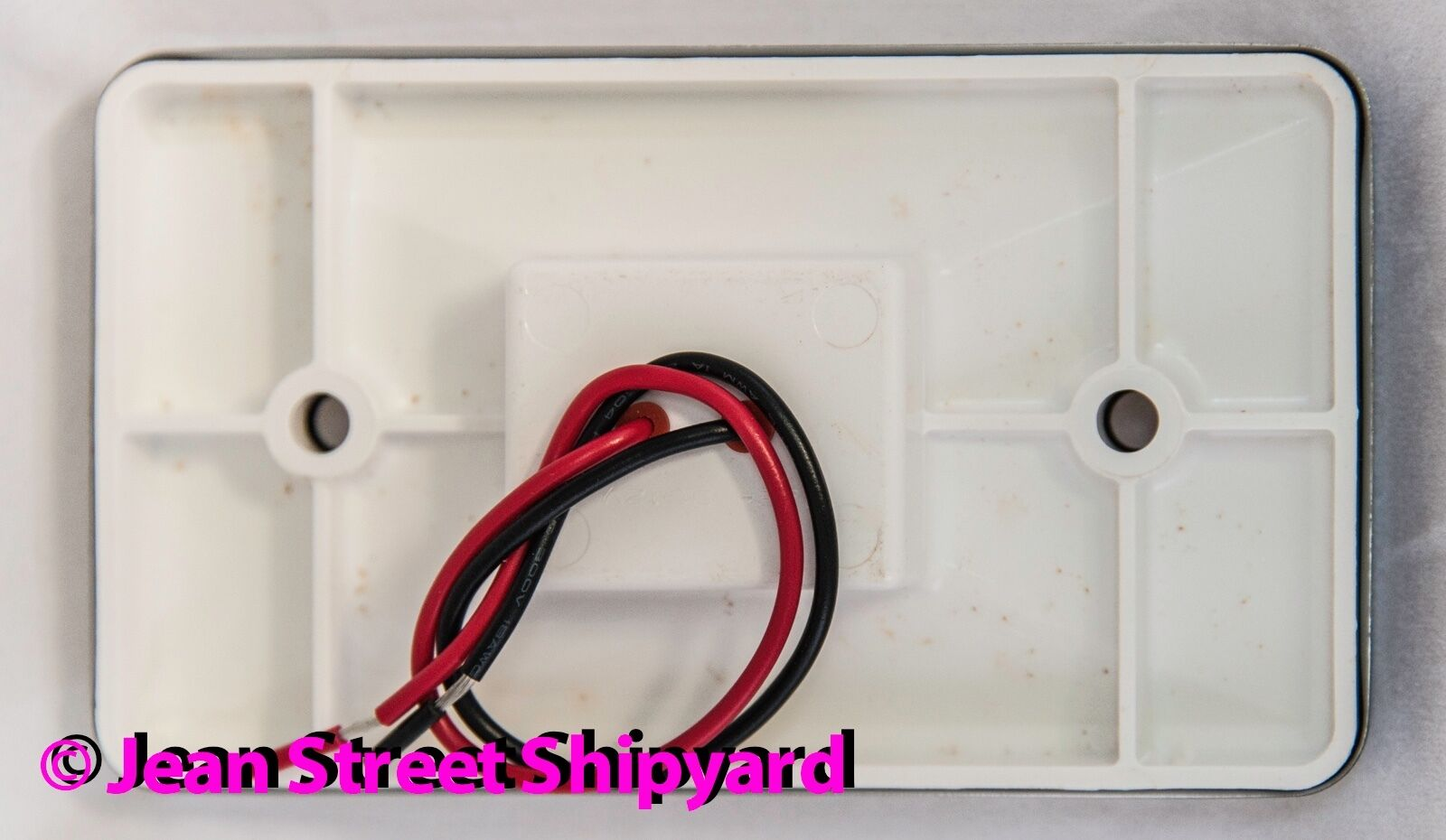 NEW SeaChoice LED Marine Stainless Rectangular TRANSOM LIGHT SCP 02361