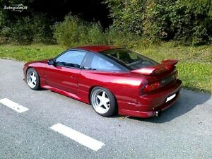Image Is Loading Nissan 200sx S13 Aftermarket Rear Splitter 180sx 240sx