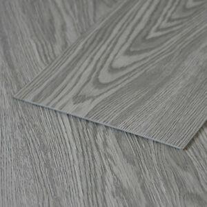 36pc floor planks tiles self adhesive grey wood vinyl