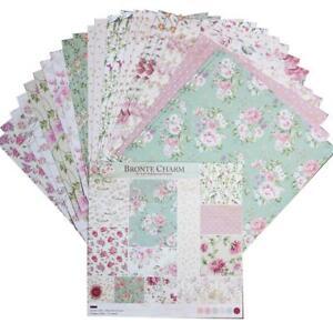 24pcs 6 Inch Single-Sided Scrapbook Paper Hand Account Card DIY Album Making