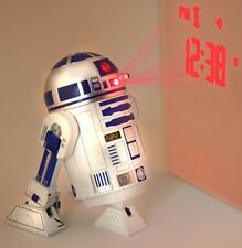 Star Wars R2D2 R2-D2 Reveil Projection Alarm Clock