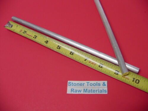 "200 Pieces 3//8/"" ALUMINUM 6061 ROUND ROD 10/"" long T6 .375/"" Solid Lathe Bar Stock"