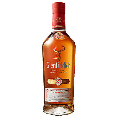 Glenfiddich 21 Year Old Gran Reserva Scotch Whisky 700mL bottle Single Malt