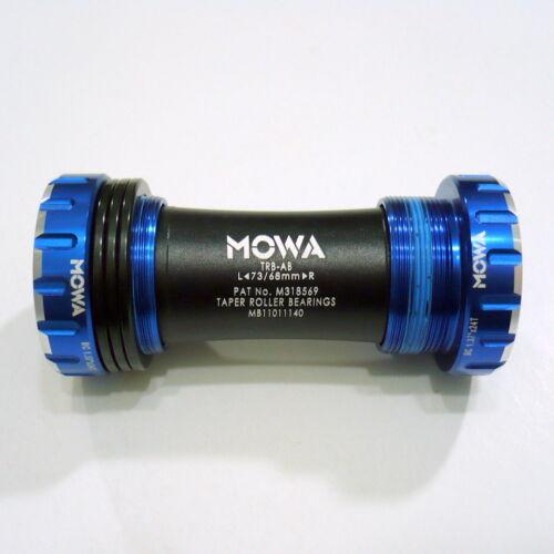 988 gobike88 MOWA TRB-AB Bottom Bracket for Shimano MTB and compatible Blue