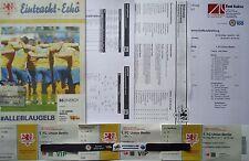 8 items Programm VIP Ticket Band Presse 2016/17 Braunschweig - Union Berlin (2)