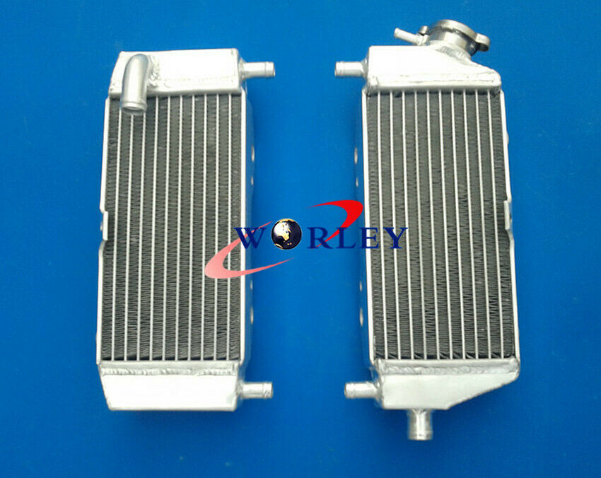 Aluminum radiator RH/&LH Kawasaki 2-stroke KX250 KX 250 2003-2004 03 04 GPI