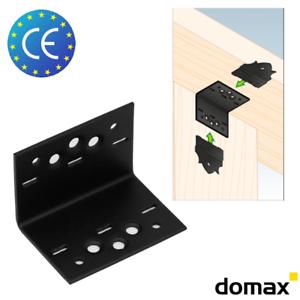 10x SDKL 2,5mm Dekorativ Lochwinkel Holzverbinder Winkelverbinder Winkel mit CE