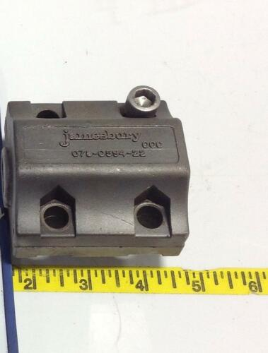JAMESBURY STEEL BRACKET 078-0594-22 *PZB*