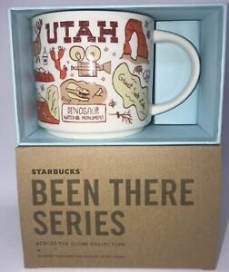 Starbucks Been There Séries Collection Utah Café Tasse Neuf avec Boîte