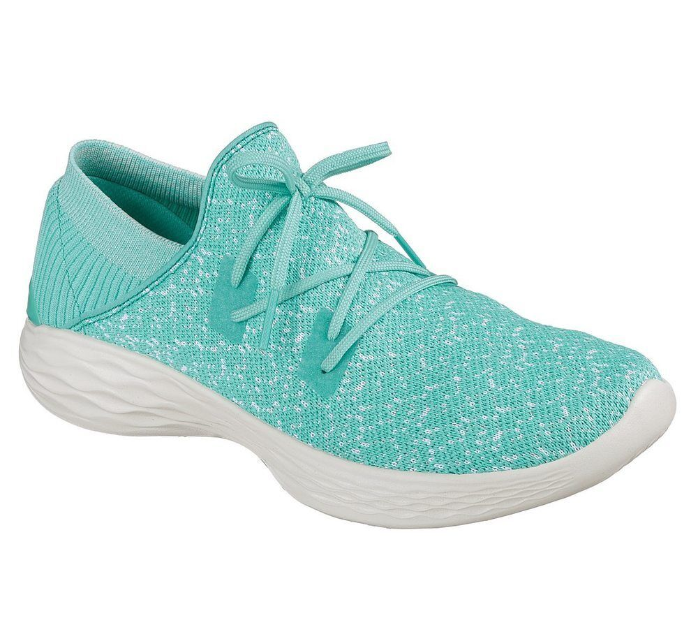 NEU SKECHERS Damen Sneakers EXHALE Slipper Freizeitschuhe Sommerschuh YOU - EXHALE Sneakers Grün 97ab46