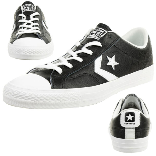 bf78224795d Men s Converse Star Player Leather Essentials Ox Lace-up Trainers in ...