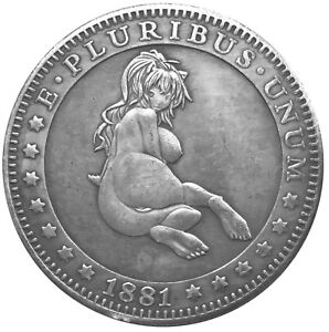 Callipygian-Venus-V2-Novelty-Head-Tail-Good-Luck-Coin-US-SELLER-FAST-SHIPPING