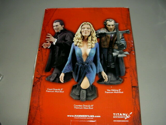 TITAN HAMMER GLAMOUR COLLECTION INGRID PITT COUNTESS DRACULA 8