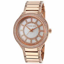 5553c13ce5e1 item 8 Michael Kors MK3313 Kerry MOP Crystal Ros-Tone Stainless Steel  Womens Watch -Michael Kors MK3313 Kerry MOP Crystal Ros-Tone Stainless  Steel Womens ...