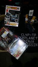 Borderlands Funko Exclusive Gentleman Claptrap + Yellow Claptrap + Shirt Size M!