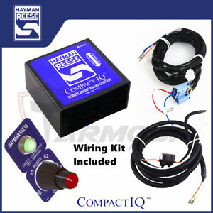 hayman reese electric brake controller compact iq wiring harness rh ebay com au reese hitch wiring harness hayman reese wiring harness for tow bar