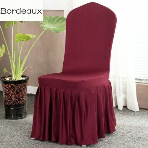 Stretch Spandex Chair Cover Dining Room Wedding Banquet Seat Protector Covering