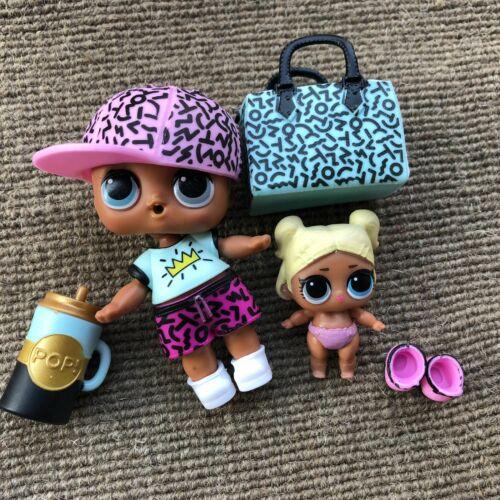 Scribbles Doll Boy BIG /& LIL Scribbles Sis Set LIL Scribbles Sister Rare Toys