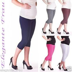 LEGGINGS 3/4 Baumwolle UMSTANDSLEGGINGS Umstandshose,Hose,Leggins,Legins,Legging