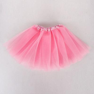 10 Farbe Ballett Kleid Dancerock Tutu Kleidung Kostüm Kid