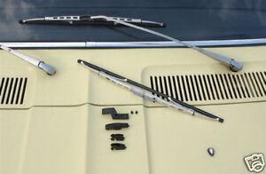 Ford-Capri-I-MK1-MK-1-Taunus-TC-Knudsen-Essuie-Glace-Chrome-NEUF