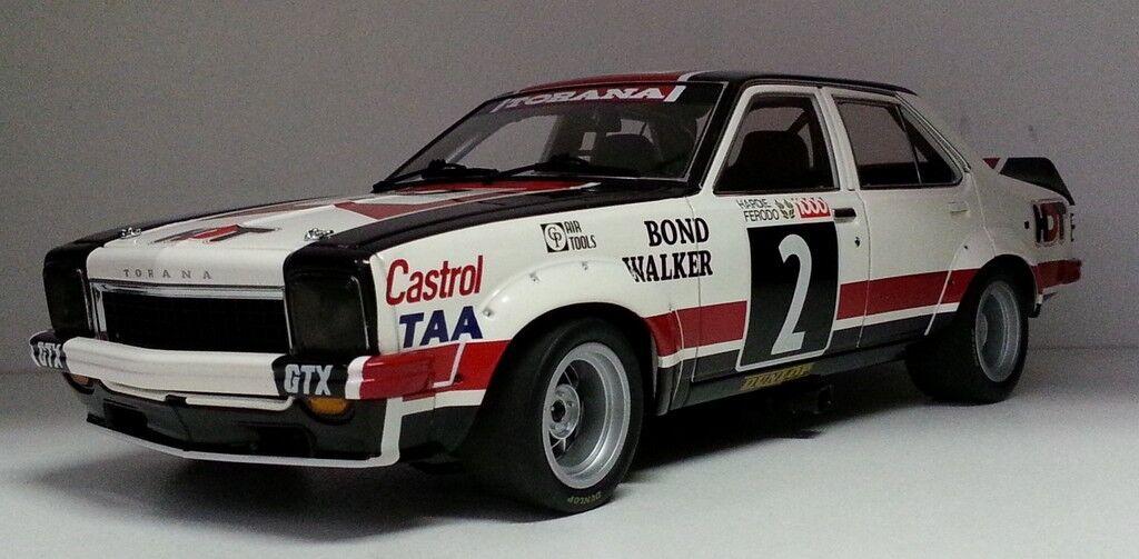 1 18 Classic Carlectables Bond Walker 1975 Bathurst 3rd lugar Holden LH Torana