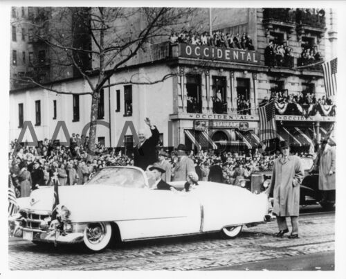 1953 Cadillac Eldorado Convertible /& Eisenhower Factory Photo Ref. #30251