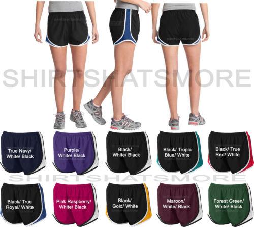 XL 2X 3X 4X Ladies Running Shorts Performance Womens Jog Walking Athletic XS