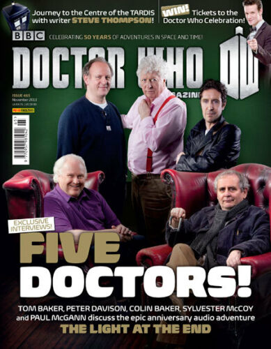 Doctor Who Doctor Who Magazine 452 to 486