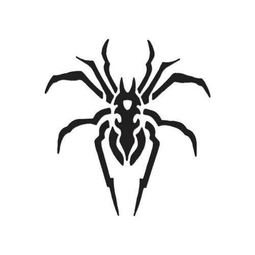 Decal Sticker Multiple Color /& Sizes Spider Arachnid Tribal ebn650