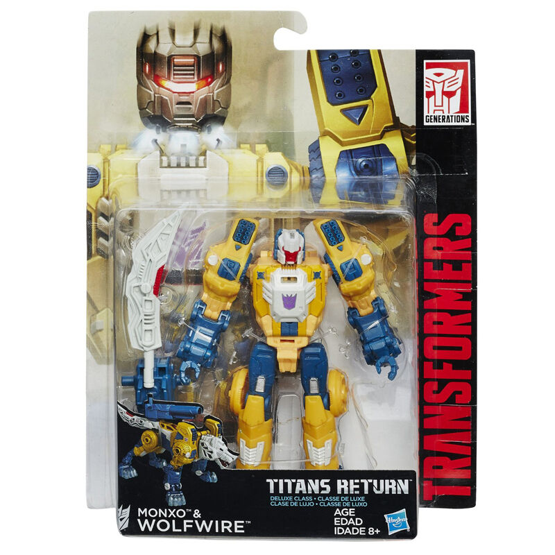 TRANSFORMERS Generations Titans Return Deluxe Wolfwire Monxo ACTION FIGURE NEW