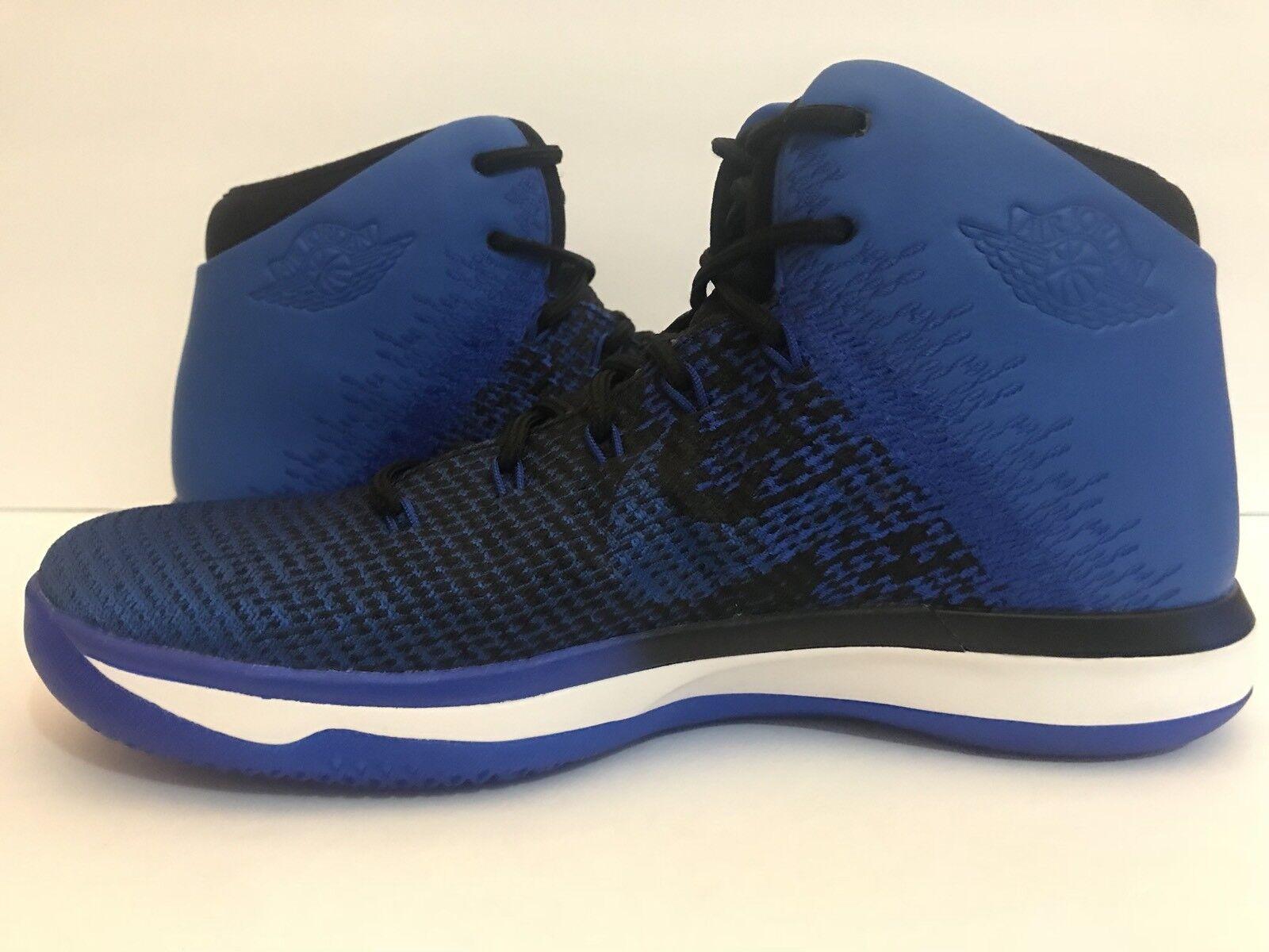 reputable site e064f 77b9d ... Air Air Air Jordan XXXI Basketball Shoes Black Game Royal 845037-007 Sz  ...