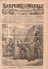 1868 Harpers Weekly November 7-Death to Grant if he wins only the electoral vote