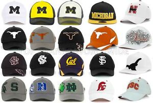 4eb5d86e805 NCAA COLLEGE HAT FLEX FIT TOP OF THE WORLD STRETCH FITTED CAP ALL ...