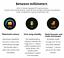 Senora-dorado-c19-Bluetooth-reloj-redondo-display-Android-iOS-Samsung-iPhone-IP miniatura 8