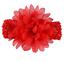 10x Baby Girls Large Ruffle Flower Lace Hairband Soft Elastic Headband Hair Band