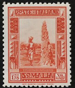 Italy-Somalia-Sassone-n-178-cv-480-SUPER-CENTERED-Pittorica-perf-12-MNH