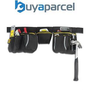 La imagen se está cargando Stanley-Cinturon-Portaherramientas-Spade-Clavo- Bolsa-Cartuchera-Martillo- 9534f6e31c08