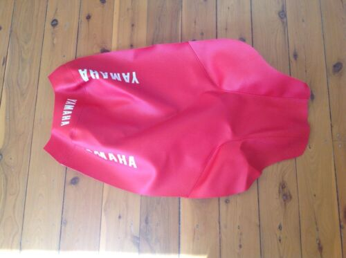 yamaha Yz80 Seat Cover New 1983 To 1987 Reproduction New Red Or Black