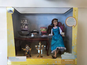 Disney Princesses Beauty Beast Princess Belle Cena Play Set giocattolo in scatola sigillata