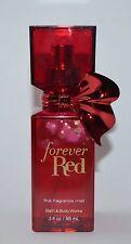 X2 Bath & Body Works Forever Red Fine Fragrance Mist Spray Set 3 Oz