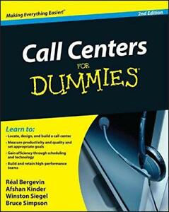 Call Centers for Dummies by Real Bergevin Afshan Kinder Winston Siegel Bruce - Leicester, United Kingdom - Call Centers for Dummies by Real Bergevin Afshan Kinder Winston Siegel Bruce - Leicester, United Kingdom