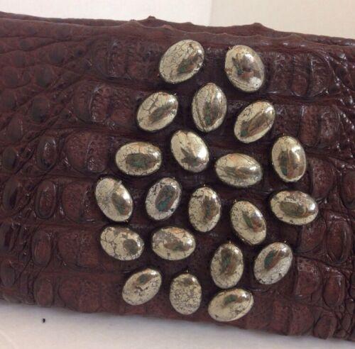 Belle Crocodile Gam Pyrite Mate One Of Kind 213 A Clutch FdUwqSd7