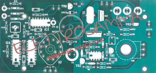 NUOVA ELETTRONICA circuito stampato per LX 1356  LX1356 nuovaelettronica