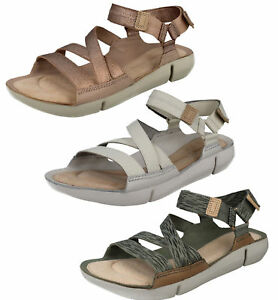 c3b0febca3b72 Image is loading Ladies-Clarks-Tri-Sienna-Casual-Leather-Sporty-Sandals