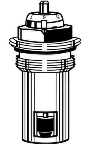 Heimeier Thermostatventil Ventileinsatz 1//2 Oberteil Ventilheizkörper Heizkörper