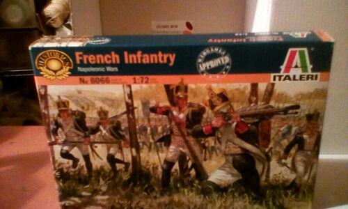 guerres napoléoniennes 6066 ITALERI 1//72 Infanterie française