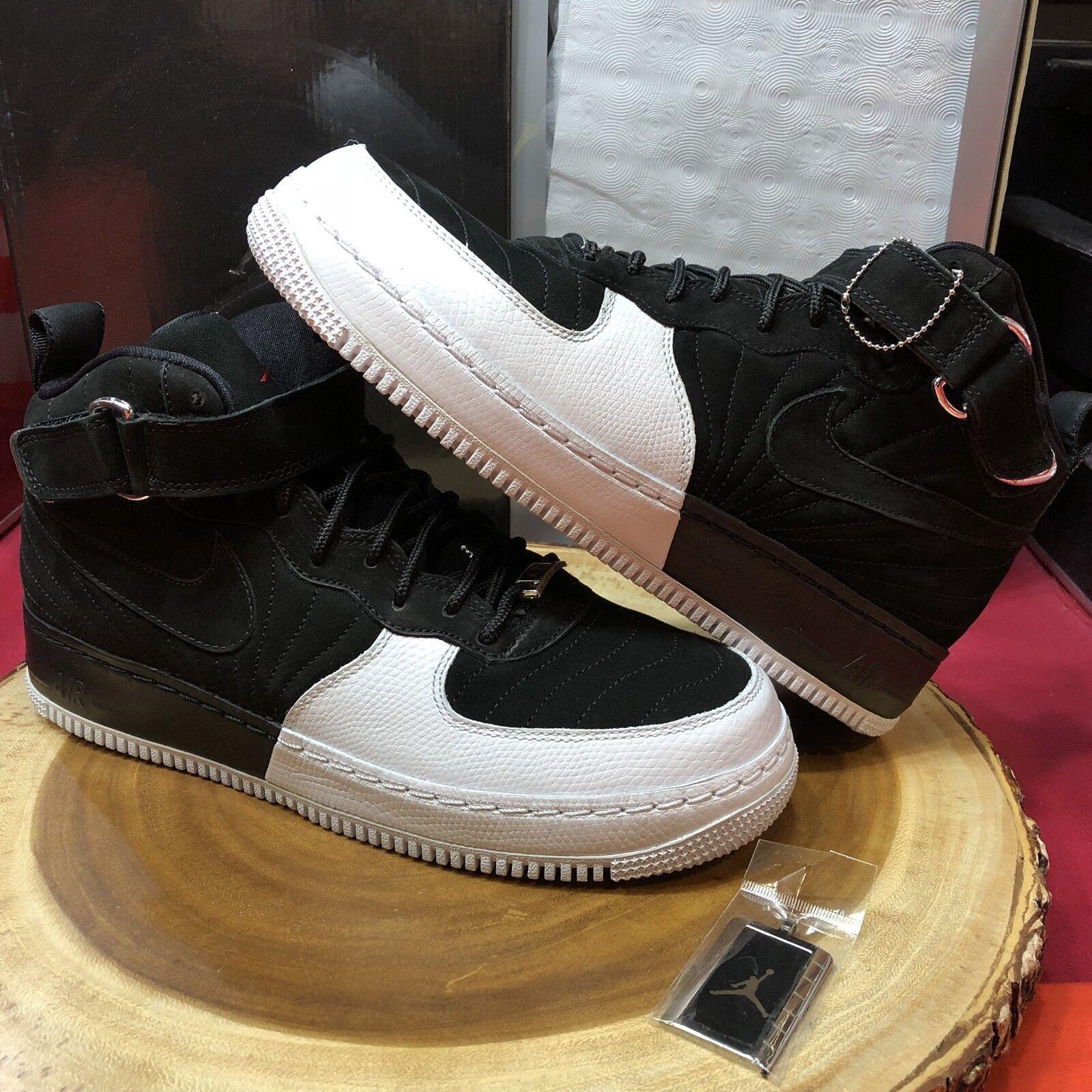 Nike Air Jordan Force Fusion AJF 12 XII One Playoff I Taxi Black Sz 10 I Playoff Bred Oreo dbb614
