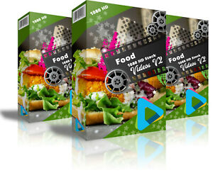 HD-1080-Royalty-Free-Stock-Footage-Videos-034-FOOD-034-on-DvD-Rom